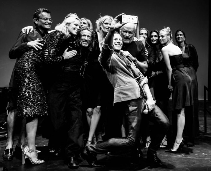Opening Peter Lindbergh Exhibition,  10 Sept 2016, Kunsthal Rotterdam Photo Fred Ernst